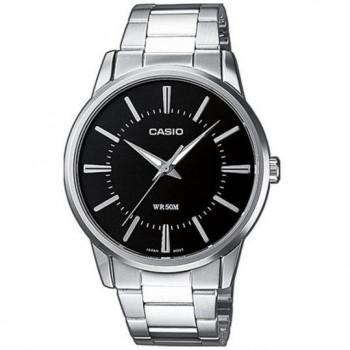 CASIO Collection - MTP-1303PD-1AVEF,  Silver case with Stainless Steel Bracelet