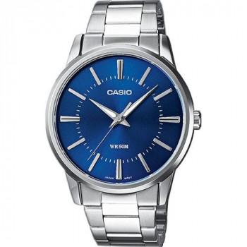 CASIO Collection - MTP-1303PD-2AVEF,  Silver case with Stainless Steel Bracelet