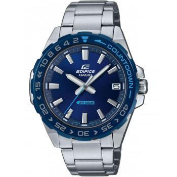 CASIO Edifice - EFV-120DB-2AVUEF,  Silver case with Stainless Steel Bracelet