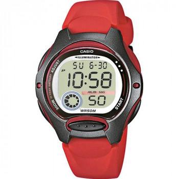 CASIO Sport - LW-200-4AVEF, Red case with Red Rubber Strap