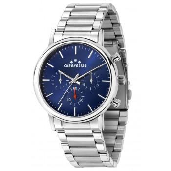 CHRONOSTAR Polaris - R3753276006, Silver case with Metallic Bracelet