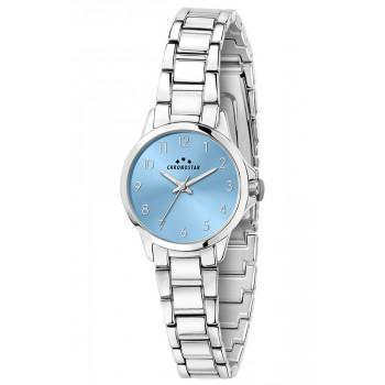 CHRONOSTAR  Streamer Ladies - R3753285503,  Silver case with Metallic Bracelet