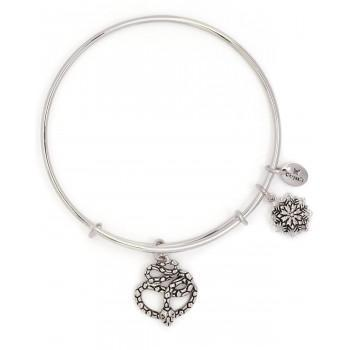 CHRYSALIS Βραχιόλι από Ορείχαλκο  Bodhi Naga  Expandable Bangle  Silver CRBT2214SP