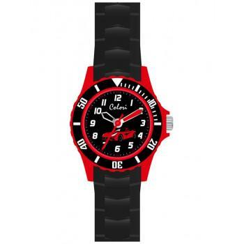 COLORI Kids - CLK060, Black Case with Black Rubber Strap