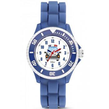 COLORI Kids - CLK086  Blue case with Blue Rubber Strap