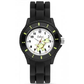 COLORI Kids - CLK115 Black case with Black Rubber Strap