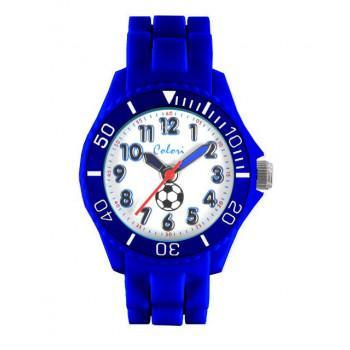 COLORI Kids Collection - CLK011 Blue case, with Blue Silicon Strap
