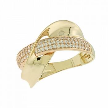 TBS Creations Δαχτυλίδι από χρυσό 14 καρατίων BSR091870