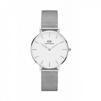 DANIEL WELLINGTON Classic Petite Sterling - 00100164DW, Silver case with Stainless Steel Bracelet