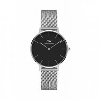 DANIEL WELLINGTON Classic Petite Sterling - 00100162DW, Silver case with Stainless Steel Bracelet