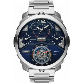 DIESEL Machinus - DZ7361 Silver case, with Stainless Steel Bracelet