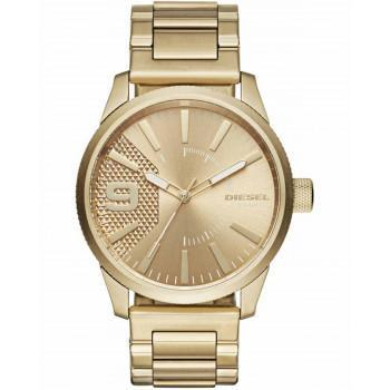 DIESEL Rasp - DZ1761 Gold case, with Stainless Steel Bracelet