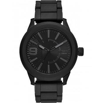 DIESEL Rasp - DZ1873  Black case with Stainless Steel Bracelet