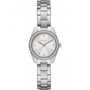 DKNY Nolita Crystals  - NY2920  Silver case with Stainless Steel Bracelet