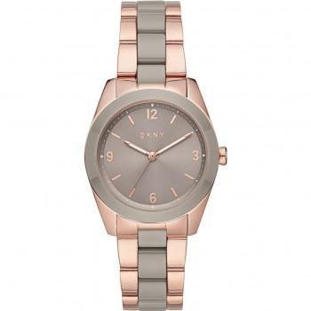 DKNY Nolita - NY2906  Rose Gold case with Stainless Steel Bracelet