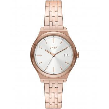DKNY Parsons - NY2947  Rose Gold case with Stainless Steel Bracelet