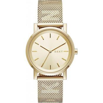 DKNY Soho Ladies  - NY2621, Gold case with Stainless Steel Bracelet
