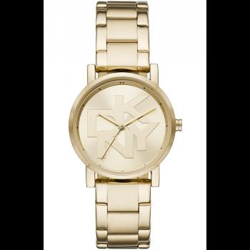 DKNY Soho - NY2959,  Gold case with Stainless Steel Bracelet