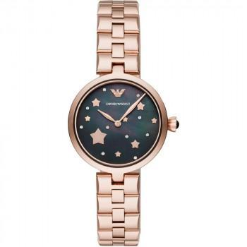 EMPORIO ARMANI Arianna -  AR11197, Rose Gold case with Stainless Steel Bracelet