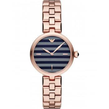EMPORIO ARMANI Arianna -  AR11220, Rose Gold case with Stainless Steel Bracelet