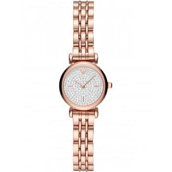 EMPORIO ARMANI Gianni T-Bar -  AR11266,  Rose Gold case with Stainless Steel Bracelet