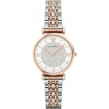 EMPORIO ARMANI Gianni T-Bar -  AR1926,  Rose Gold case with Stainless Steel Bracelet