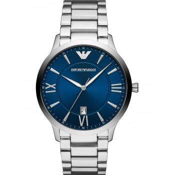 EMPORIO ARMANI Giovanni - AR11227, Silver case with Stainless Steel Bracelet