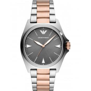 EMPORIO ARMANI Mens - AR11256, Silver case with Stainless Steel Bracelet