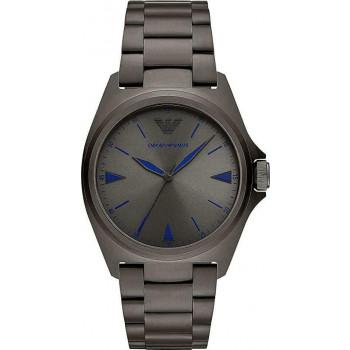 EMPORIO ARMANI Mens - AR11381, Grey case with Stainless Steel Bracelet