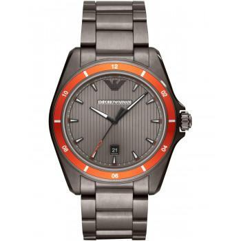 EMPORIO ARMANI Sigma Mens - AR11178, Gray case with Stainless Steel Bracelet