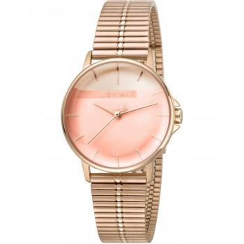 ESPRIT Fifty Fifty Ladies - ES1L065M0085  Rose Gold case with Stainless Steel Bracelet