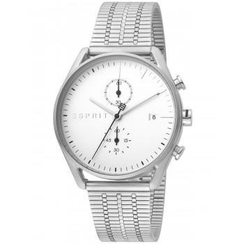 ESPRIT Lock  Chronograph  - ES1G098M0055  Silver case, with Stainless Steel Bracelet
