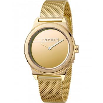 ESPRIT Magnolia - ES1L019M0085  Gold case with Stainless Steel Bracelet