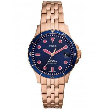 FOSSIL FB-01 Ladies  - ES4767  Rose Gold case with Stainless Steel Bracelet