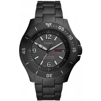 FOSSIL FB-02  Mens - FS5688  Black case with Stainless Steel Bracelet