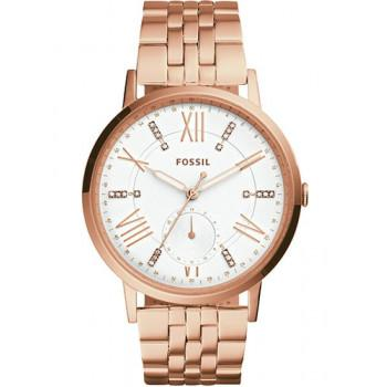 FOSSIL Gazer - ES4246, Rose Gold case with Stainless Steel Bracelet