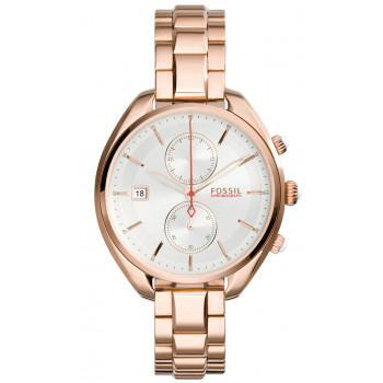 Fossil Land Racer - CH2977 Rose Gold Plated case, with Rose Gold Plated Bracelet