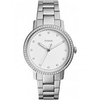 FOSSIL Neely Crystals  - ES4287, Silver case with Stainless Steel Bracelet