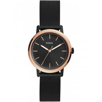 FOSSIL Neely - ES4467,   Black case with Stainless Steel Bracelet