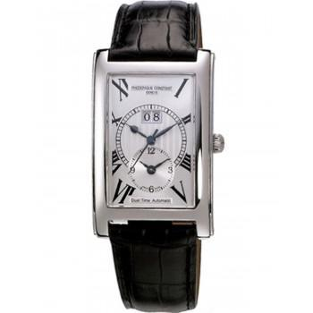 FREDERIQUE CONSTANT Automatic Classic - FC-325MS4C26, Silver case with Black Leather Strap