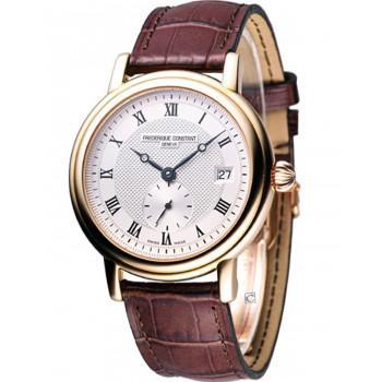 FREDERIQUE CONSTANT Automatic Classic - FC-345MC3P9, Rose Gold case with Brown Leather Strap
