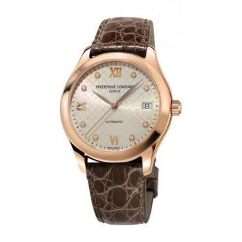 FREDERIQUE CONSTANT Ladies Automatic  - FC-303LGD3B4  Rose Gold case with Brown Leather Strap