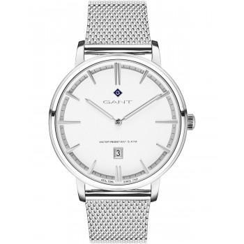GANT Naples - G109004,  Silver case with Stainless Steel Bracelet