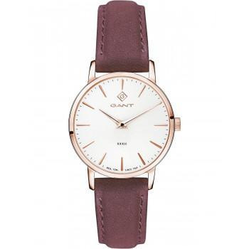 GANT Park Avenue 32 - G127007,  Rose Gold case with Brown Leather Strap