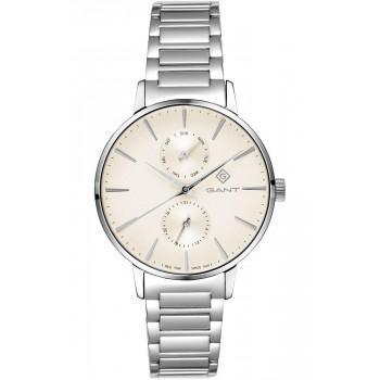 GANT Park Avenue Day-Date - G128007, Silver case with Stainless Steel Bracelet