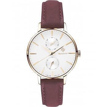 GANT Park Avenue  Ladies - G128003,  Gold case with Brown Leather Strap
