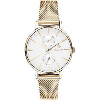 GANT Park Avenue Ladies - G128004,  Gold case with Stainless Steel Bracelet