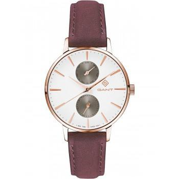GANT Park Avenue  Ladies - G128005,  Rose Gold case with Brown Leather Strap