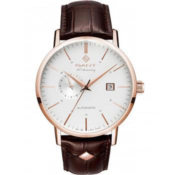 "GANT Park Hill ""70th Anniversary"" Automatic - G102003,  Rose Gold case with Brown Leather Strap"