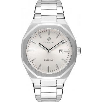 GANT Quincy - G151002,  Silver case with Stainless Steel Bracelet